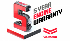 Yanmar wprowadza pięcioletnią gwarancję na silniki