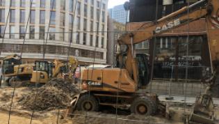 Moc maszyn w centrum Warszawy!